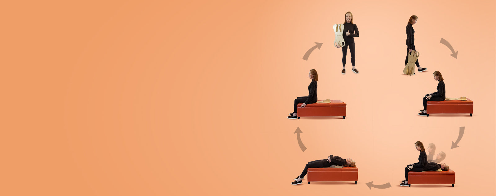 The 6 easy steps for relieving back pain while using the PurePosture