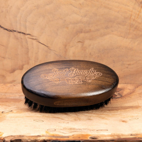 ANTIQUE BOAR'S HAIR BRUSH