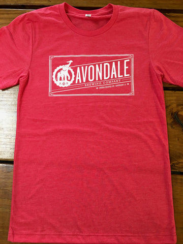 Red Avondale Logo T-shirt