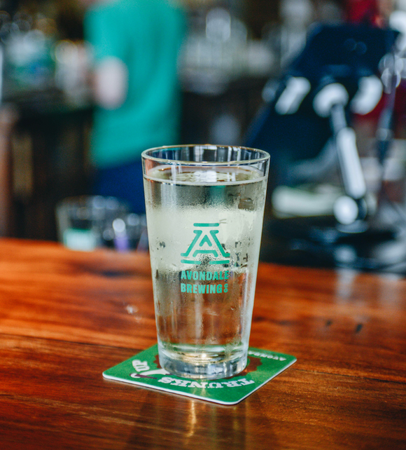 ABC Pint Glass