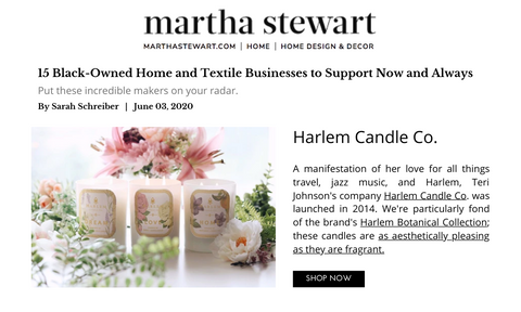 Martha Stewart Black-Owned Businesses to Support