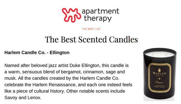 Apartment Therapy Harlem Candle