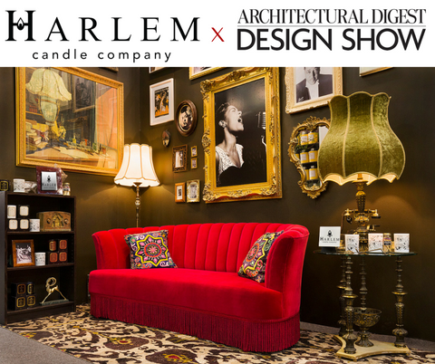 Harlem Candle Company Architectural Digest Design Show