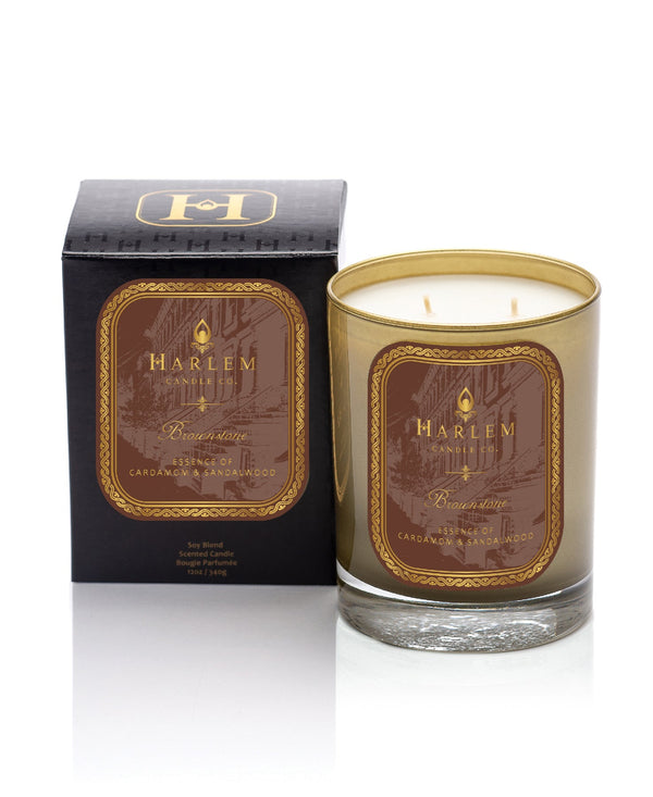 """Brownstone"" luxury candle"