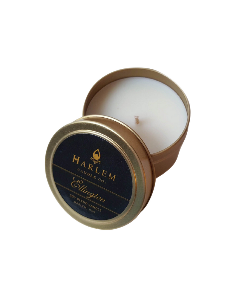 """Ellington"" luxury travel candle 4 oz"