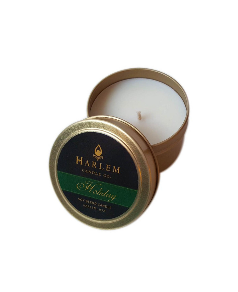"""Holiday"" luxury travel candle 4 oz"
