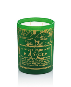 """Holiday"" Nightclub Map Candle"