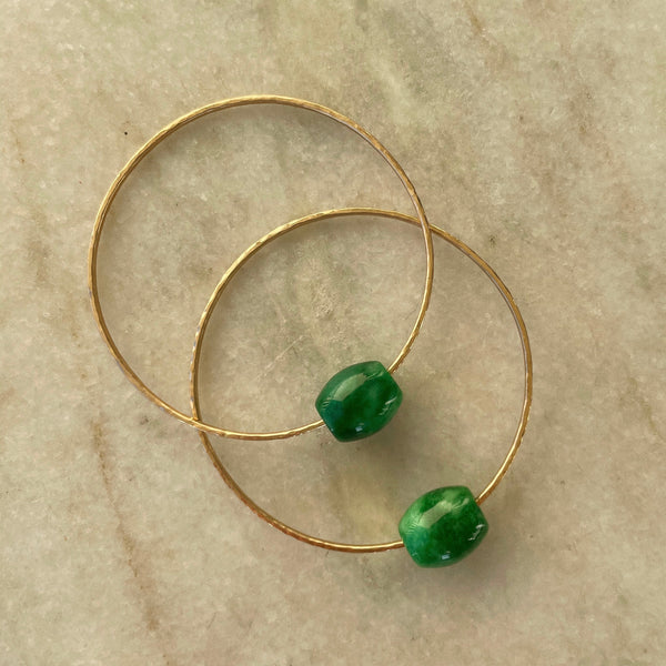 JADE BANGLE SET