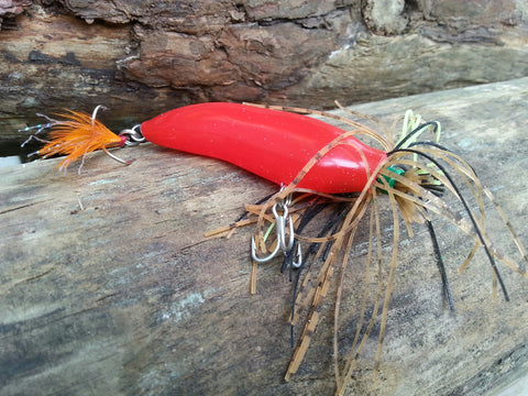 Chili Pepper Limited Edition Bass Fishing Lure