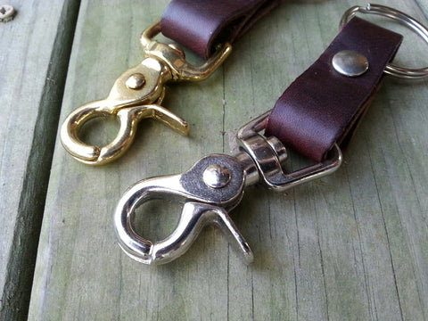 Latigo Key Chain