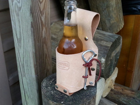 Beverage Bottle Belt Holster Koozie