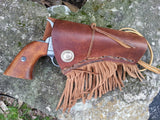 Western Leather Holster Fringe / Steampunk / Cosplay