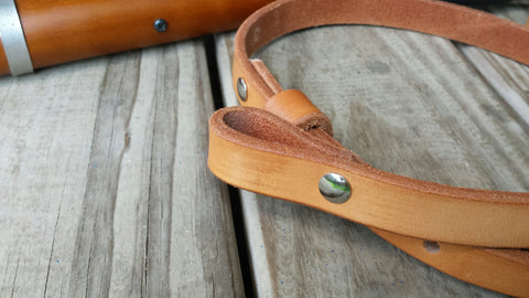 Rifle Sling - Western Style with Free Hand Stamped Letter Initials