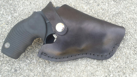 Leather Holster Ruger LCP, Kel Tec P3AT Leather Brown