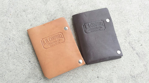 Rustic Chocolate Latigo Leather Wallet - Handmade in the USA