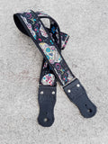 Whitaker Leather Design your Own Guitar Strap with Leather Ends
