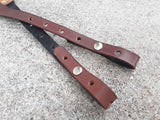 Handmade Leather Banjo Strap Bluegrass Style