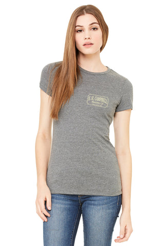 E.H. Campbell Trading Made in the USA Tee Ladies