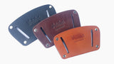 Easy Fit Belt Slide Leather Holster - LARGE or SMALL, Handmade in USA