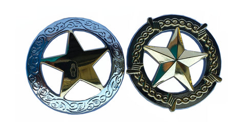Replacement Big Horn / American Saddlery Star Conchos