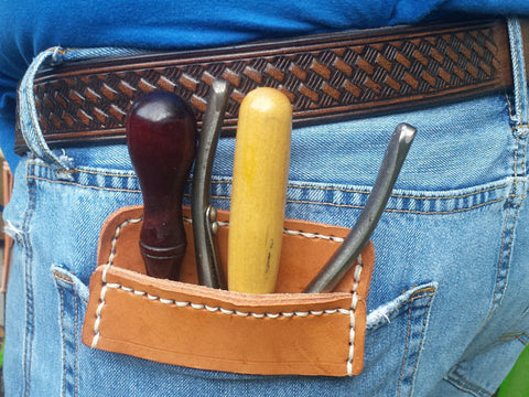 Leather Pocket Protector for Tools