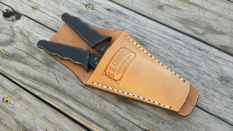 Handmade Leather Plier, Wire Stripper, Tool Holder