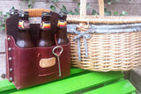Leather 6 Pack Beer Carrier