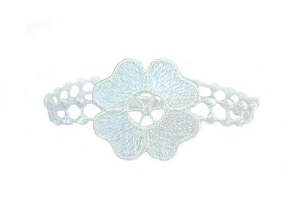 Missiu Flower Bracelet White Natural