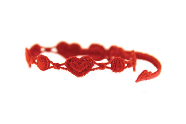 Missiu Heart Bracelet Red