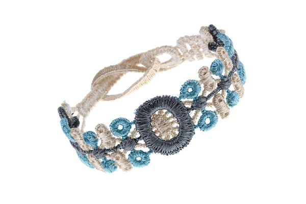 Missiu Indian Bracelet Cadet Blue