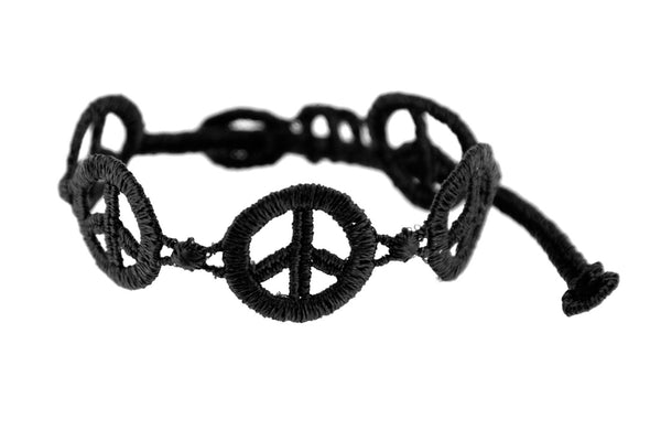 Missiu New Peace & Love Bracelet Black