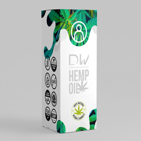 DW Hemp Oil Tincture - Dynamic Warriors