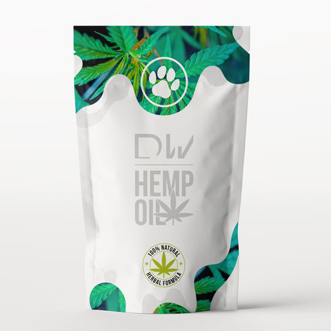 DW Pet Hemp Oil Treats - Dynamic Warriors
