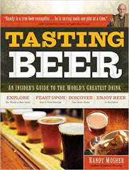 Book cover of Tasting Beer by Randy Mosher