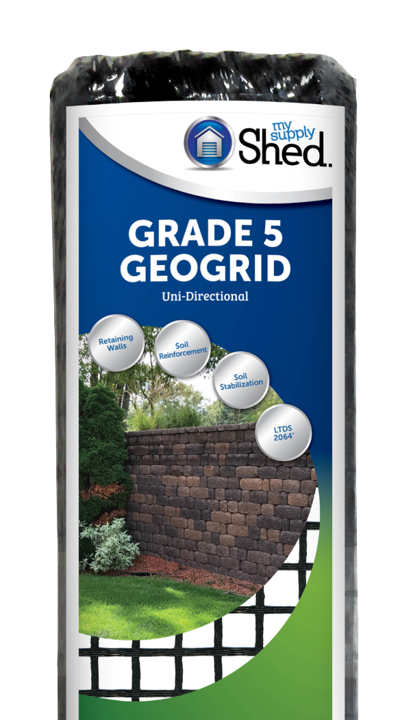 Grade 5 Uni-Directional Retaining Wall Geogrid