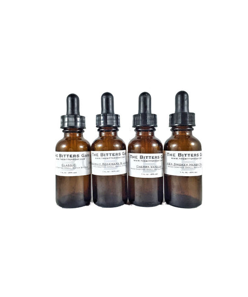 Cocktail Bitters - 1 oz bottles x 4 - Choose your Flavors