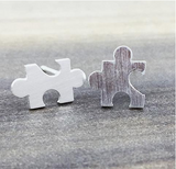 Puzzle Piece Earrings - Sexton in the City Boutique