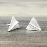 Paper Plane Earrings - Sexton in the City Boutique