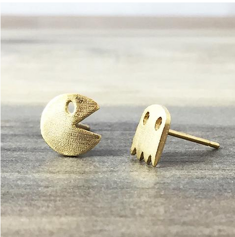 Pac Man Earrings - Sexton in the City Boutique
