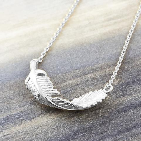 Twisted Leaf Necklace - Sexton in the City Boutique