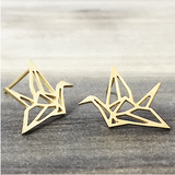 Origami Crane Earrings - Sexton in the City Boutique