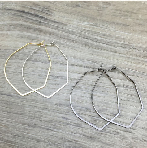 Shapeshifter Hoop Earrings - Sexton in the City Boutique