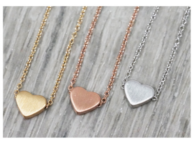 Piece Of My Heart Necklace - Sexton in the City Boutique
