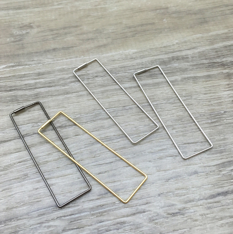 Hip to Be Square Earrings - Sexton in the City Boutique
