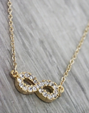 To Infinity Necklace - Sexton in the City Boutique