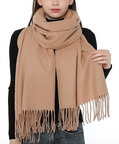 Fringe in High Places Scarf - Sexton in the City Boutique