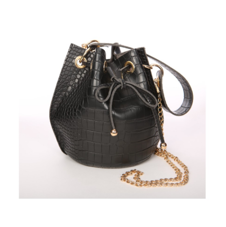 Snake It Away Bucket Bag