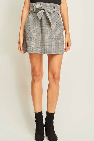 Plaid Influence Skirt