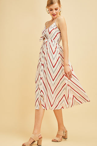 Chevron and Only Dress