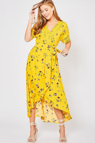 Grow Big Wrap Dress
